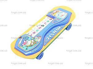 Детское пианино-скейт, 06-18, детские игрушки