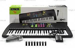 Детское пианино с микрофоном, SD980A
