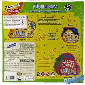 Детское пианино «Тигренок», 8806-6, цена