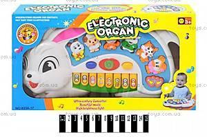 Детское пианино «Зайка», 833A-17
