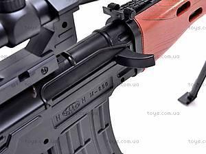 Детское ружье на пульках, M890B, детские игрушки