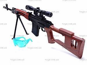 Детское ружье на пульках, M890B, toys