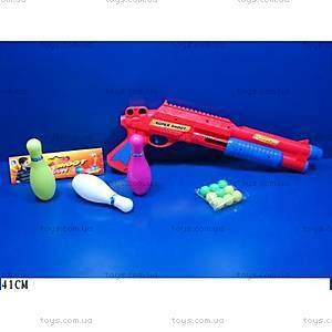 Детское игрушечное ружье с шариками, 322-3