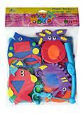 Детские аква-пазлы «Морские жители и фигуры», GB-7624, отзывы