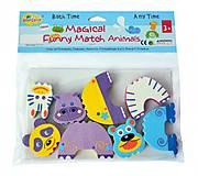 Детские аква-пазлы «Смешные животные», GB-FM4D, детские игрушки