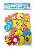 Детские аква-пазлы «Смешные животные» 8 игрушек, GB-FM8A