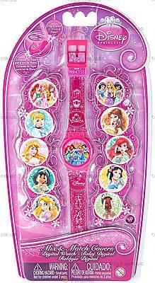 Детские часы Disney Princess с набором сменных панелей, DPRJ15