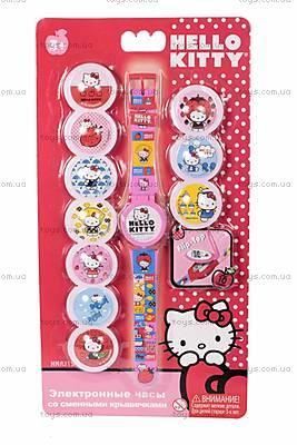Детские часы Hello Kitty с набором сменных панелей, HKRJ15
