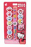 Детские часы Hello Kitty с набором сменных панелей, HKRJ15, фото