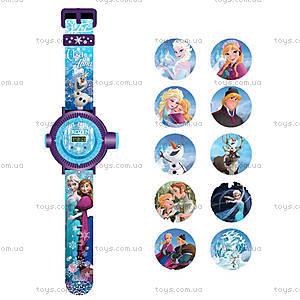 Детские часы «Холодное сердце» с проектором, FRRJ13