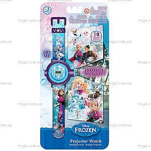 Детские часы «Холодное сердце» с проектором, FRRJ13, купить