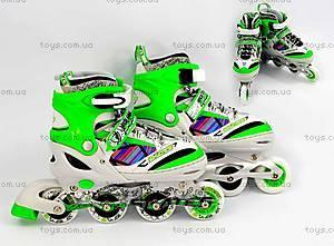 Детские четырехколесные ролики, зеленые, ST 9005  466