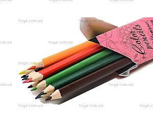 Детские цветные карандаши, 12 штук, WXBB-US1-3P-12, фото