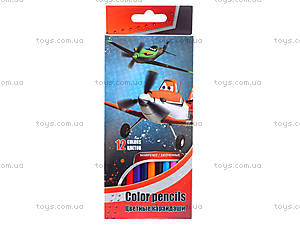 Детские цветные карандаши, PLAB-US1-P-12, купить