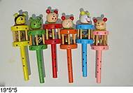 Детские деревянные бубенчики, W02-1703 W02-