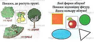 Детские карточки «Овощи и фрукты», 03113, фото