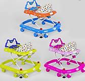 Детские ходунки JOY с игровой панелью 3 расцветки, 5211, тойс ком юа