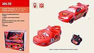 Детские кроксы и машина «Тачки» на управлении, 2013S