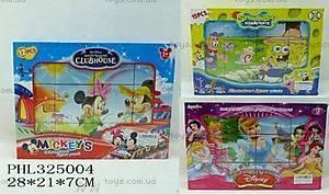 Детские кубики «Дисней», 1271A1273A74