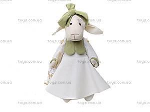 Детская кукла ручной работы «Мисс Овечка», HEMP10001(UA)