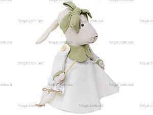 Детская кукла ручной работы «Мисс Овечка», HEMP10001(UA), купить