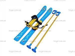 Детские лыжи с палками, 3350, детские игрушки