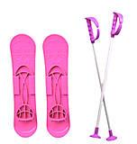 Детские лыжи «SKI BIG FOOT» розовые, 6586, фото