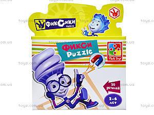 Детские магнитные фигурные пазлы «Фиксики», VT1504-25, toys.com.ua