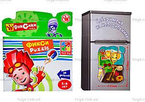 Детские магнитные фигурные пазлы «Фиксики», VT1504-25, toys