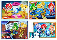 Детские мягкие пазлы «Фиксики», 24 элемента, VT1102-03, купить