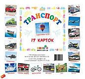 Детские мини-карточки «Транспорт», 6 96, купить