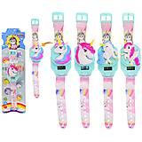 """Детские наручные часы для девочки """"Единорог"""" 20см 4 вида , JD934A, детский"""