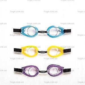 Детские очки для плавания Intex, 55602