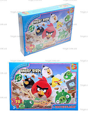 Детские пазлы  «Angry Birds», B001024