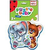 Детские пазлы Bear-Rabit, RK1101-04