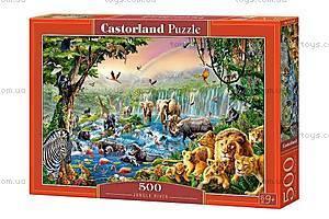 Пазл Castorland на 500 деталей «Джунгли», В-52141, купить