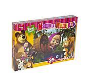 Детские пазлы «Гостинцы для белочки», M-S35-01-11, игрушки