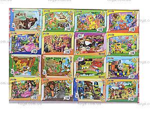 Детские пазлы MINI «Любимые герои», 33210