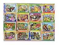 Детские пазлы MINI «Любимые герои», 33210, купить