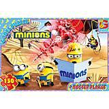 Детские пазли «Миньоны», 150 элементов, MIB005, фото