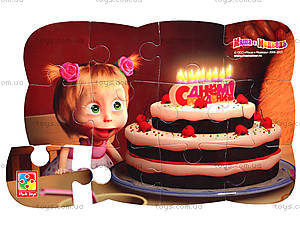 Детские Пазлы на магните «Маша день рождения», VT3205-48, фото