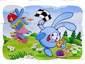 Детские Пазлы на магните «Смешарики», VT3205-40, детские игрушки