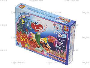 Детские пазлы «Русалочка», R003, детские игрушки