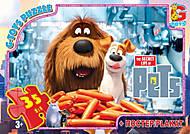 Детские пазлы с секретами домашних животных, SL20147, купить
