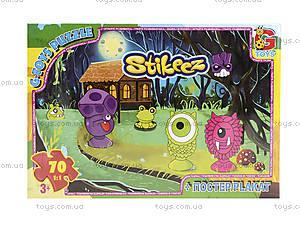 Детские пазлы «Stikeez», ST008, купить