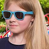 Детские солнцезащитные очки Koolsun голубые серии Wave (Размер: 1+), KS-WACB001, купить