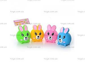 Детские игрушки зайцы с эффектами,