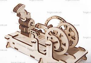 Детский 3D пазл «Двигатель», 70009, магазин игрушек
