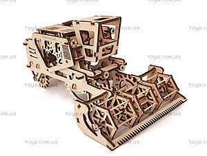 Детский 3D пазл «Комбайн», 700010, цена
