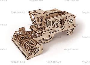 Детский 3D пазл «Комбайн», 700010, игрушки